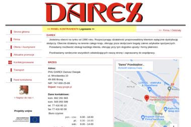 PHU DAREX - Nawierzchnie Brzeg