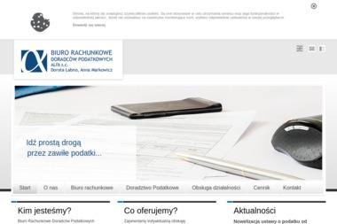 """Biuro Rachunkowe Doradców Podatkowych """"Alfa"""" s.c. Dorota Łabno, Anna Markowicz - Fundusz Europejski Tarnów"""