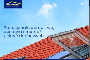 ELEMENT Pokrycia Dachowe - Pokrycia dachowe Przodkowo