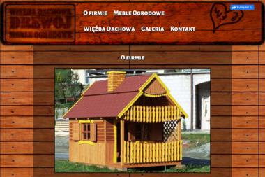 Drewoj - Boazeria Plastikowa Skomielna Czarna
