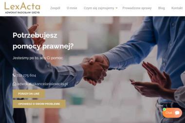 LEXACTA Kancelaria Radcy Prawnego - Adwokat Świdnica