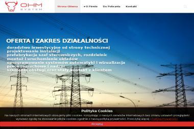 OHM System Sp. z o.o. - Projekty Instalacji Elektrycznych Białystok