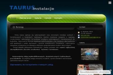 TAURUS Instalacje - Instalacje sanitarne Szczecin