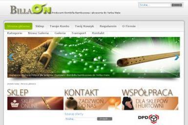 BillaOn - producent bombilli bambusowych - Drewnopochodne Piła