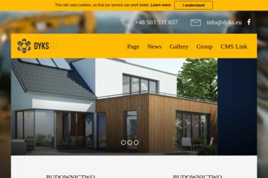 DYKS.EU budownictwo - Remonty domów i kamienic Kłodawa