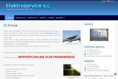 ELEKTROSERVICE S.C. - Montaż drzwi Krzyżanowice