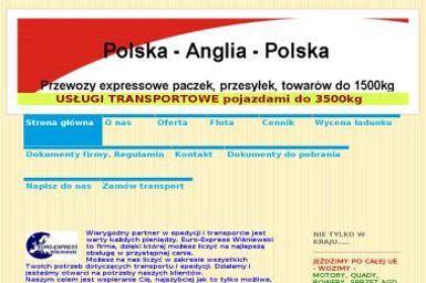 Euro-Express Wiśniewski Marek - Transport Samochodów Pułtusk