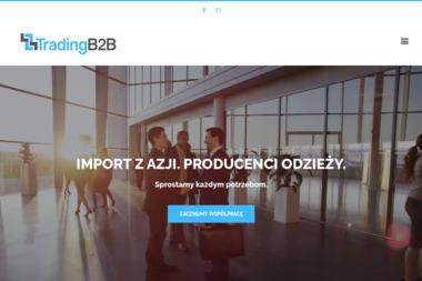 TRADING B2B - Szycie pokrowców Łódź
