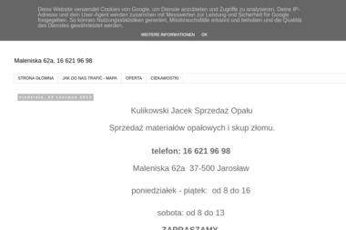 Sprzedaż Opału Jacek Kulikowski - Transport busem Jarosław