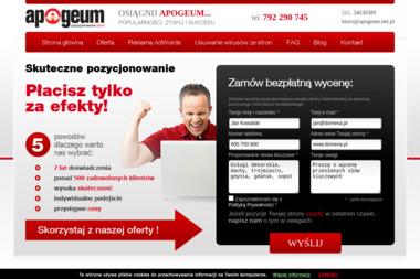 APOGEUM Paweł Lewandowski - Agencja interaktywna Rumia
