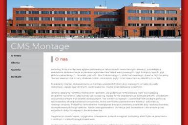 CMS MONTAGE - Nowoczesne Schody Szczecin