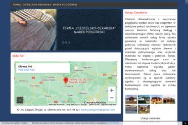 """Firma H.U.P """"ANIX"""" Jerzy Guzowski - Konstrukcja Dachu Golub-Dobrzyń"""