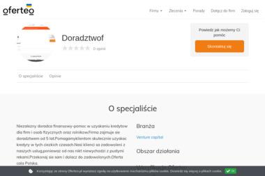 Doradztwof - Doradztwo Kredytowe Olesno