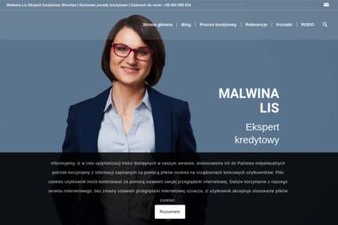 EKSPERTKA MALWINA LIS - Doradca Finansowy Szewce