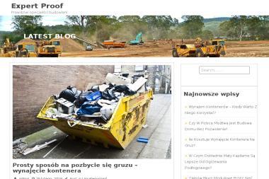 EXPERTPROOF - Uszczelnienia Konstrukcji Żelbetonowych - Firmy inżynieryjne Borne Sulinowo