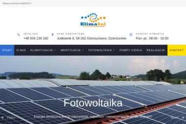 KLIMASOL JACEK MALINOWSKI - Instalacje Ostroszowice