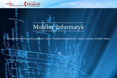 Usługi Informatyczne MOBILNY INFORMATYK - Wsparcie IT Otwock