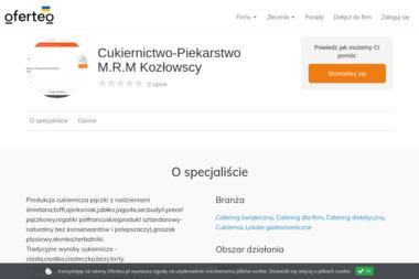 Cukiernictwo-Piekarstwo M.R.M Kozłowscy - Catering Częstochowa