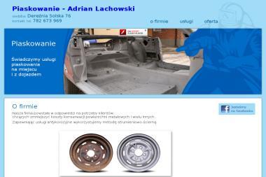 Piaskowanie Adrian Lachowski - Piaskowanie Konstrukcji Stalowej Biłgoraj