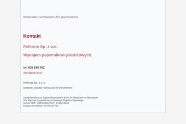 Polkrate Sp. z o.o. - Remonty mieszka艅 Pruszków