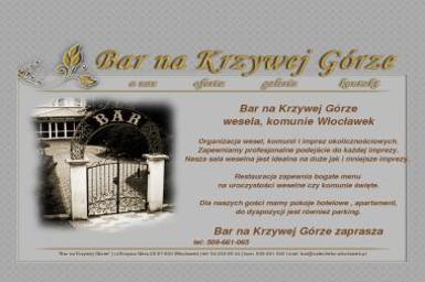 Bar na Krzywej Górze - Lokale gastronomiczne W艂oc艂awek