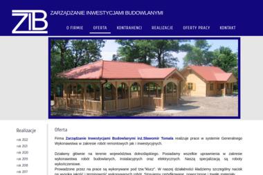 Zarządzanie Inwestycjami Budowlanymi Sławomir Tomala - Kierownik budowy Łagiewniki