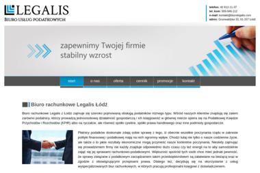 Biuro rachunkowe Legalis - Rozliczanie Firmy Łódź