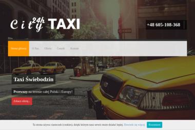 City Taxi 24 Świebodzin - Styropian Świebodzin