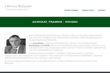 Kancelaria Adwokacka Mariusz Wojtyczek - Adwokat Krosno
