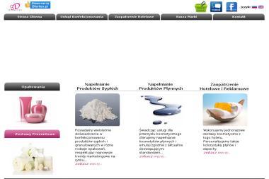 3D cosmetics - Opakowania Płock