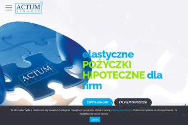 Actum-finanse - Kredyt hipoteczny Szczecin