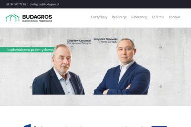 PPH BUDAGROS-BIS Sp. z o.o. - Konstrukcje Stalowe Koszalin