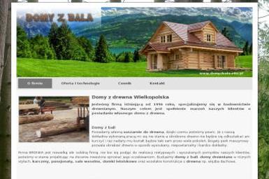 Domy z bala - Firmy inżynieryjne Nowy Tomyśl