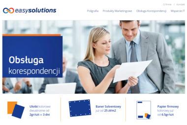 Easy Solutions s.c. Marek Szotko, Maciej Pernach - Drukarnia Zielonka