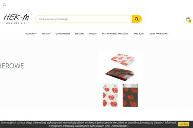 HEK&M-PLAST Sp. z o.o. - Agencja Internetowa Wólka Kosowska