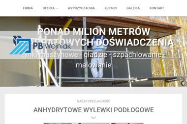 PB WOJNIAK - Jastrych Anhydrytowy Moryń