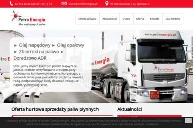Petro Energia - Skład opału Koluszki