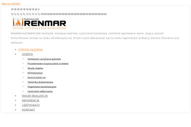 RENMAR Usługi Instalacyjno Budowlane - Energia Geotermalna Słupca