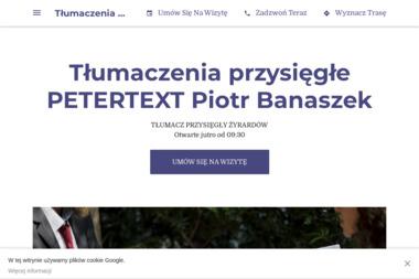 PETERTEXT Piotr Banaszek - Firma konsultingowa Żyrardów