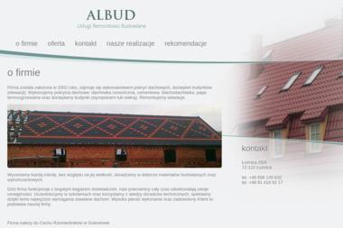 Usługi remontowo budowlane ALBUD Albert Szapował - Firma Dekarska Łożnica