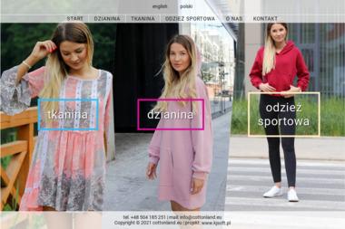 Cottonland - Hafciarnia Brzeziny