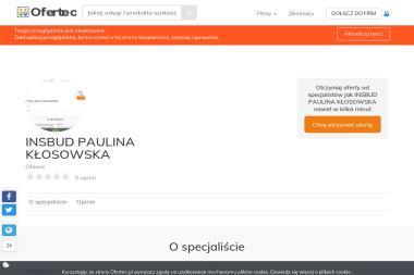 INSBUD PAULINA KŁOSOWSKA - Instalacje gazowe Oława
