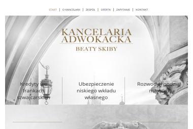 Kancelaria Adwokacka Beaty Skiby - Adwokat Spraw Karnych Kraków