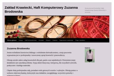 Zakład Krawiecki, Haft Komputerowy Zuzanna Brodowska - Szwalnia Szczecin