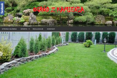 Ogród z kamienia - Ekogroszek Ostrzeszów