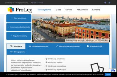 Biuro Prawno-Konsultingowe PRO-LEX - Windykacja Tarnów