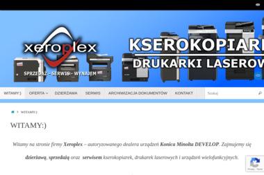 Grzegorz Janik - Xeroplex - Serwis sprzętu biurowego Rybnik