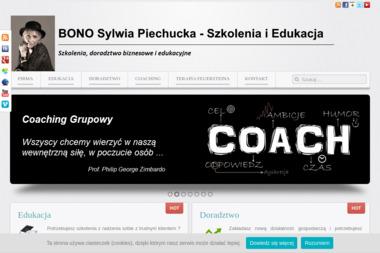 BONO Doradztwo Edukacyjno-Zawodowe Sylwia Piechucka - Strona Internetowa Elbląg