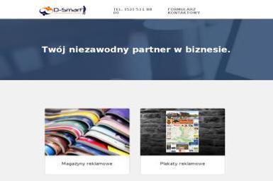 D-Smart Dominik Greinert - Druk katalogów i folderów Bydgoszcz