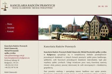 Kancelaria Radców Prawnych R. Glamowski, M. Porażyński - Windykacja Bydgoszcz